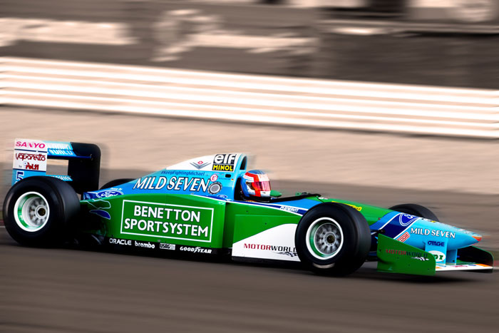 Benetton F1 Michael Schumacher