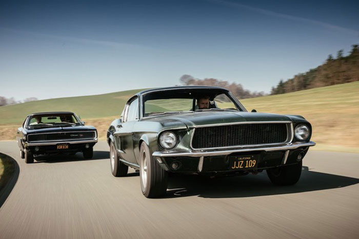 Bullit Mustang und Charger