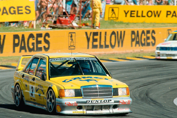 classic days mercedes benz E190 DTM